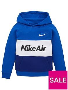 nike-sportswear-air-younger-boys-overhead-hoodie-blue