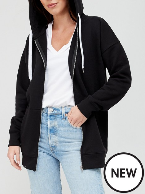 v-by-very-the-oversized-zip-through-hoodie-black