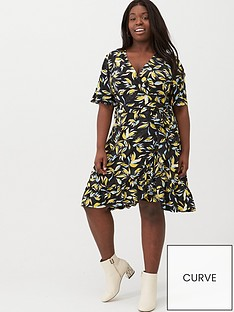 v-by-very-curve-printed-jersey-tea-dress-black-print