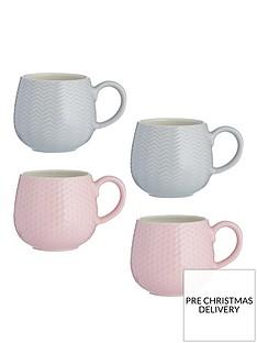 mason-cash-set-of-4-embossed-mugs