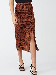 v-by-very-gathered-side-satin-midi-skirt-zebra-print