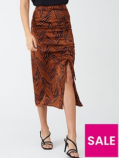 v-by-very-gathered-side-satin-midi-skirt-zebra-print