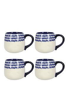 kitchencraft-mikasa-azores-spot-mugs-ndash-set-of-4