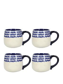 kitchencraft-mikasa-azores-spot-mugs-ndash-set-of-4