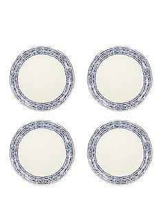 kitchencraft-mikasa-azores-speckle-dinner-plates-ndash-set-of-4