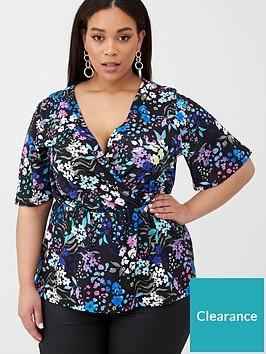 v-by-very-curve-drape-stretch-top-bright-floral