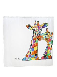 croydex-steven-brown-francie-and-josie-mczoo-shower-curtain