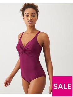 speedo-brigette-twist-front-swimsuit-plumnbsp