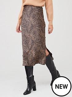 ax-paris-printed-midi-skirt-black