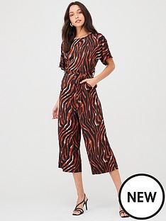 ax-paris-tiger-printed-jumpsuit-multi