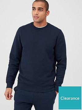 very-man-crew-neck-sweatshirt-navy