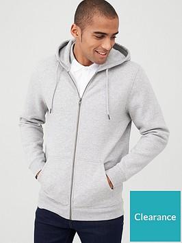 very-man-zip-through-hoody-grey-marl