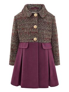monsoon-girls-callie-tweed-coat-purple