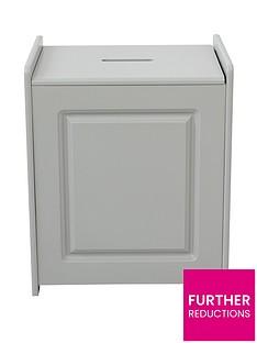 lloyd-pascal-devonshire-laundry-hamper-grey