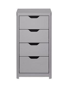 aspen-slim-4-drawer-chest-grey-oak-effect