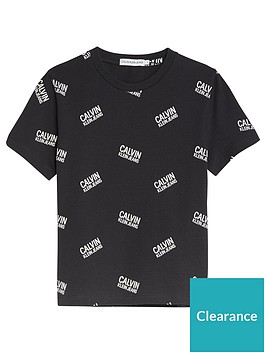 calvin-klein-jeans-boys-short-sleeve-all-over-logo-t-shirt-black