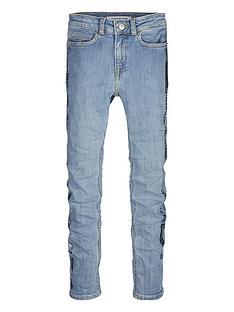 calvin-klein-jeans-girls-skinny-high-rise-foil-stripe-jeans-blue