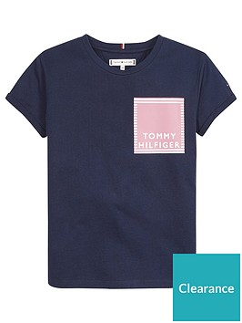tommy-hilfiger-girls-short-sleeve-graphic-logo-t-shirt-navy