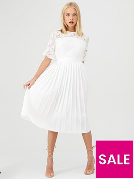 little-mistress-floral-lace-pleated-midi-dress-white