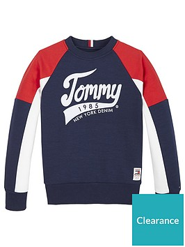 tommy-hilfiger-boys-colourblock-crew-sweatshirt-navy