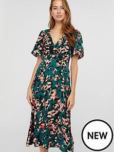 monsoon-allegra-animal-print-tea-dress