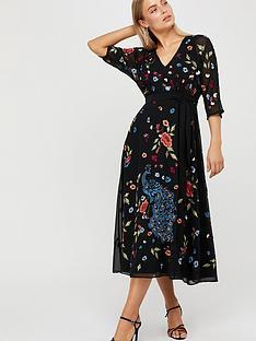 monsoon-petunia-peacock-embellished-midi-dress-black