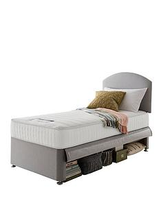 silentnight-maxi-store-divan-bed-set-with-kids-sprung-matress-grey