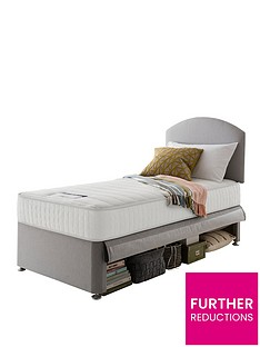 silentnight-silentnight-maxi-store-divan-bed-set-with-kids-sprung-matress-including-headboard-grey