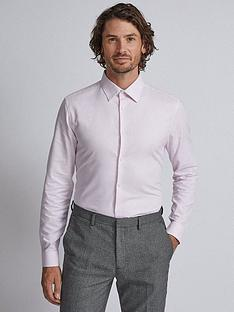 burton-menswear-london-short-sleeve-textured-shirt