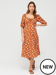 v-by-very-printed-midi-dress-print