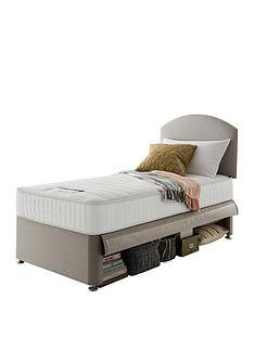 silentnight-maxi-store-divan-bed-set-with-kids-sprung-matress-sandstone
