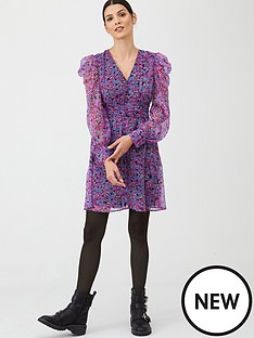 v-by-very-printed-puff-sleeve-dress-print