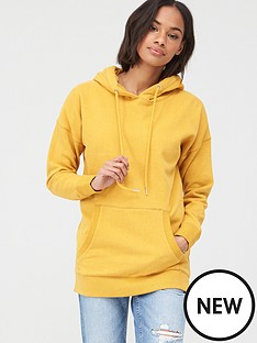 v-by-very-drawcord-fashion-hoodie-yellow
