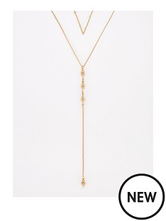 v-by-very-star-drop-lariat-necklace