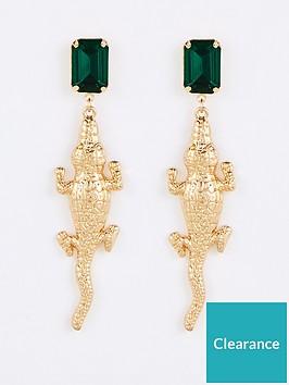 v-by-very-crocodile-drop-earrings