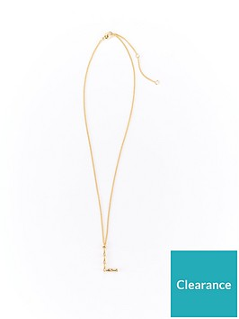 v-by-very-bamboo-initial-necklace-l-gold