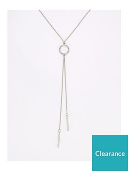 v-by-very-circle-lariat-necklace