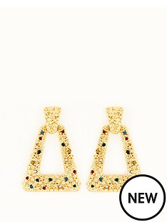 michelle-keegan-multi-stone-door-knocker-earrings-gold