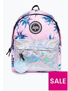 hype-girls-palms-backpack-pink
