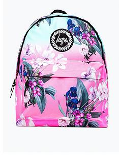 hype-girls-floral-backpack-pink