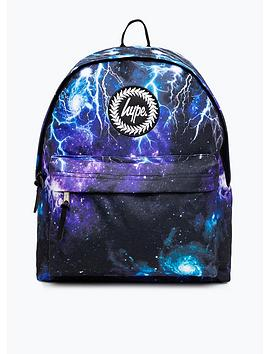 hype-boys-lightening-backpack-blue