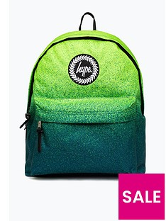 hype-boys-speckle-backpack-greenblue