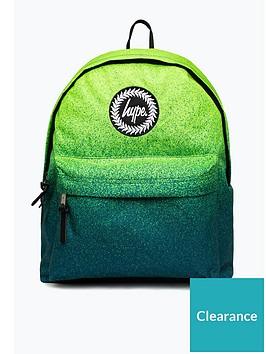hype-boys-speckle-backpack-greenblue