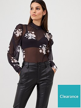 v-by-very-floral-mesh-volume-sleeve-top-floral