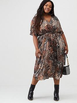 v-by-very-curve-pleated-chiffon-midi-dress-print