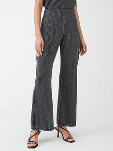 v-by-very-lurex-wide-leg-co-ord-pants-silver