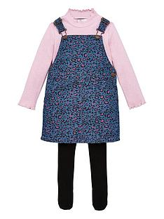 v-by-very-girls-3-piece-leopard-pinafore-dress-t-shirt-and-tights-set-multi