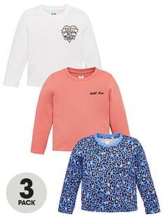 v-by-very-girls-3-pack-floral-slogan-and-leopard-print-long-sleeve-t-shirts-multi