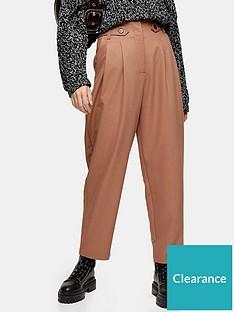 topshop-hannah-utility-trousers-camel