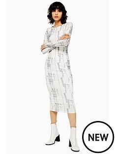 topshop-batik-mesh-midi-dress-multi